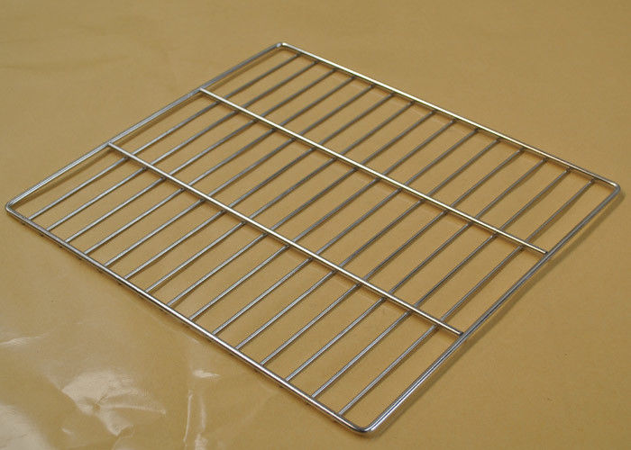 Food Grade Wire Basket Cable Tray , 304 SS Wire Mesh Basket Tray ...