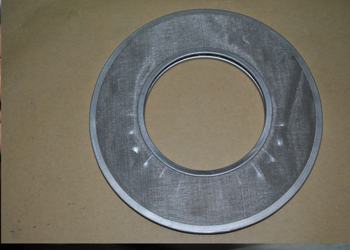 Industries Stainless Steel Wire Mesh Filter Disc Round Shape With Hole