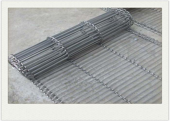Wire Mesh Conveyor Belt Ladder Flat Flex pvc coated wire material
