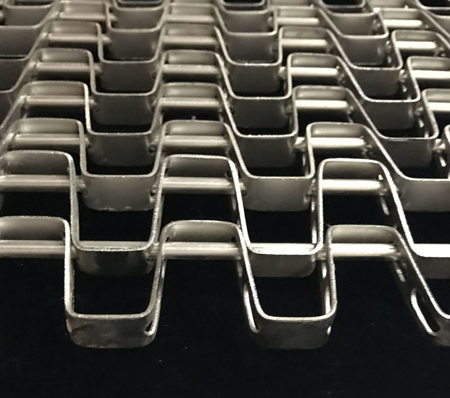 SGS Wire Honeycomb Conveyor Belt With stainless steel 304 316 , high ...