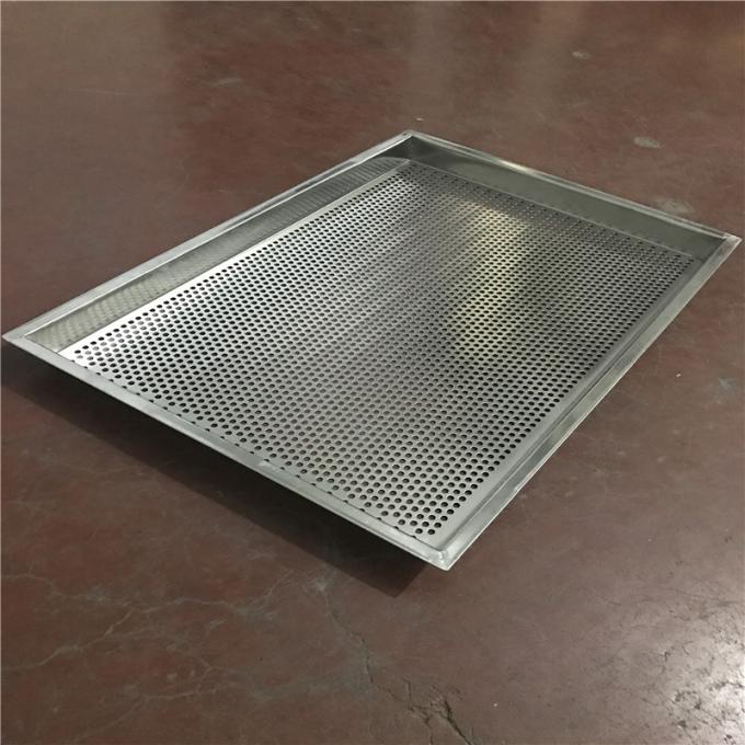 Perforated Baking Stainless Steel Wire Mesh Cable Tray