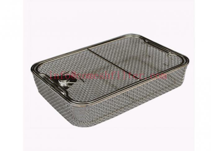 Medical Sterilization Wire Mesh Tray For Surgical